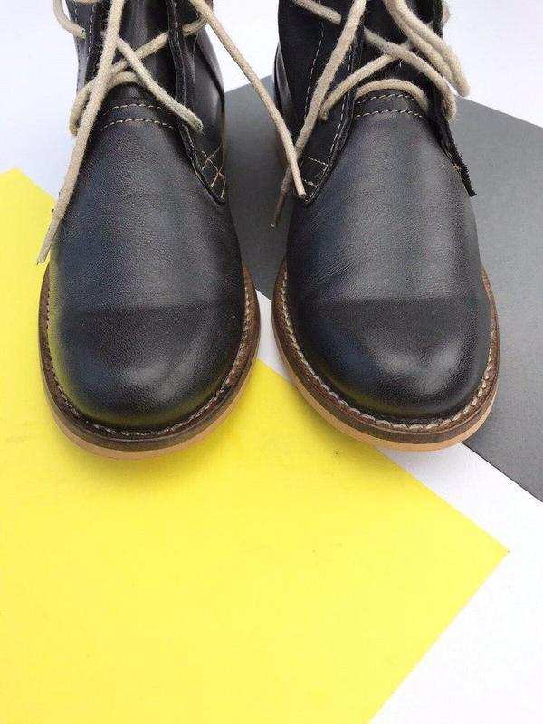 Кожаные ботинки online - Фото 4