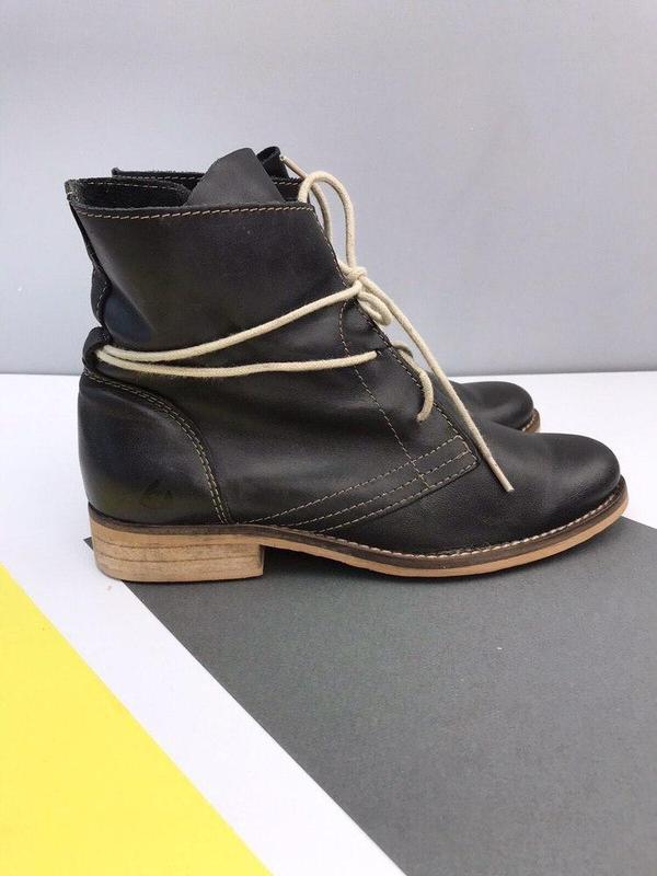 Кожаные ботинки online - Фото 5