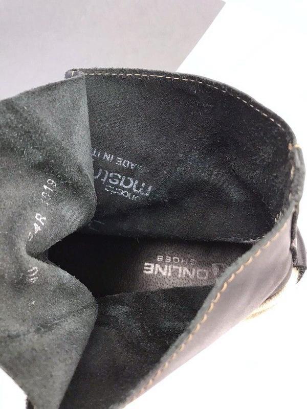 Кожаные ботинки online - Фото 7