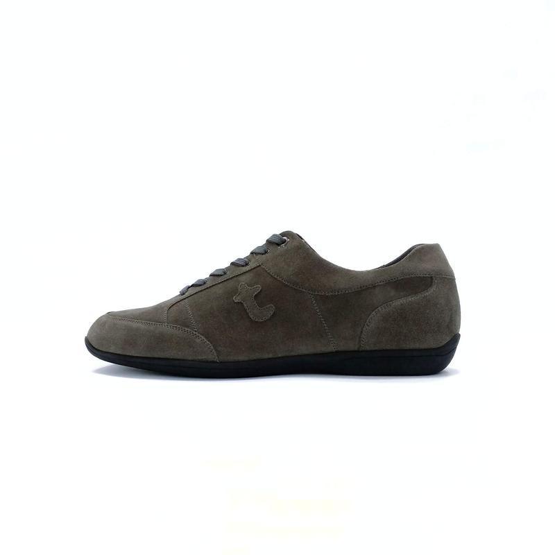 Замшевые кроссовки a. testoni