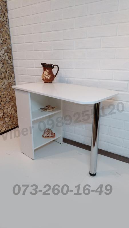 Маникюрный стол , стол для маникюра , письменный стол , кухонный - Фото 2