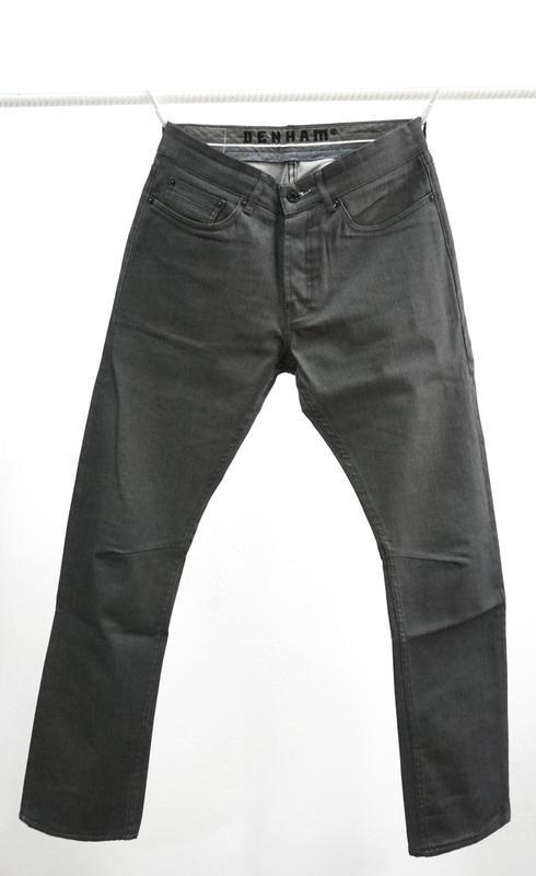 Вощеные джинсы denham grade slim vgt - Фото 2
