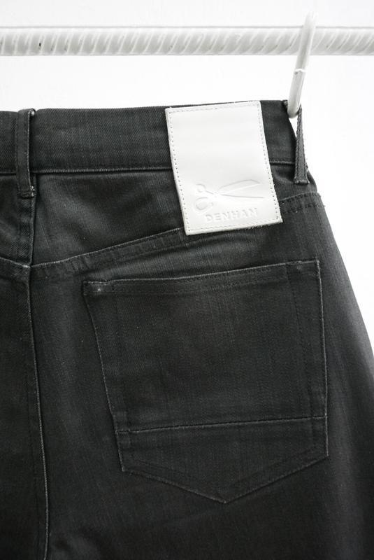 Вощеные джинсы denham grade slim vgt