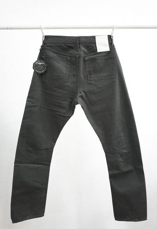 Вощеные джинсы denham grade slim vgt - Фото 3