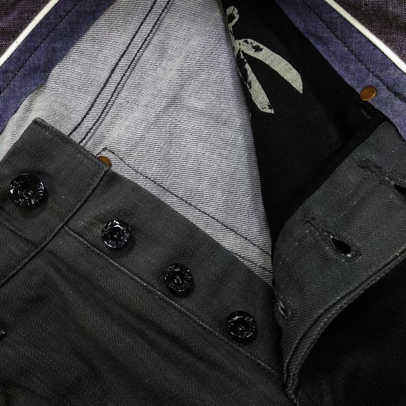 Вощеные джинсы denham grade slim vgt - Фото 5