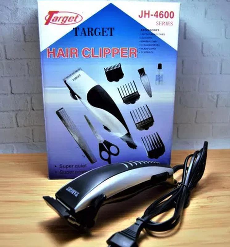Машинка для Стрижки Волос TARGET JH-4600 – Полная комплектация! - Фото 6