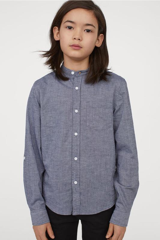 Рубашки h&m для мальчиков, 140