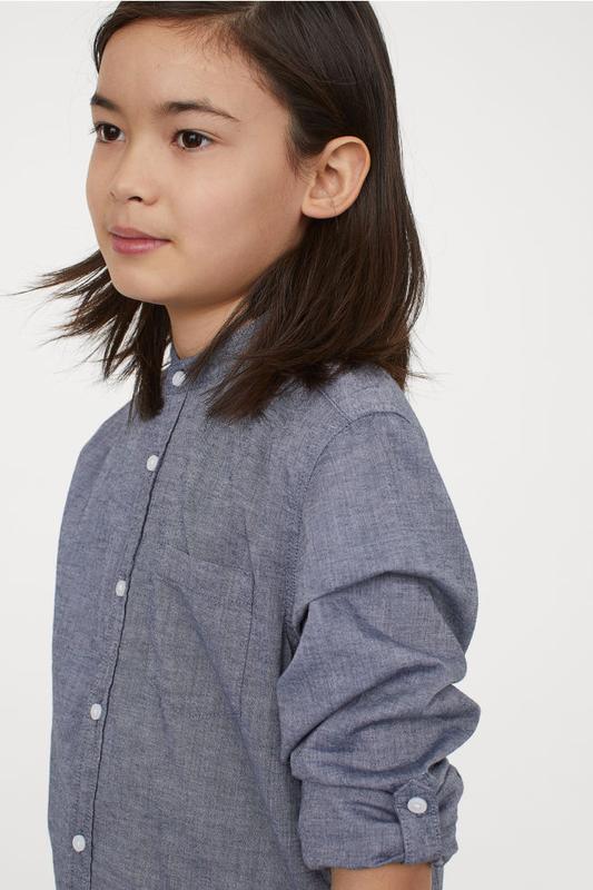 Рубашки h&m для мальчиков, 140 - Фото 2