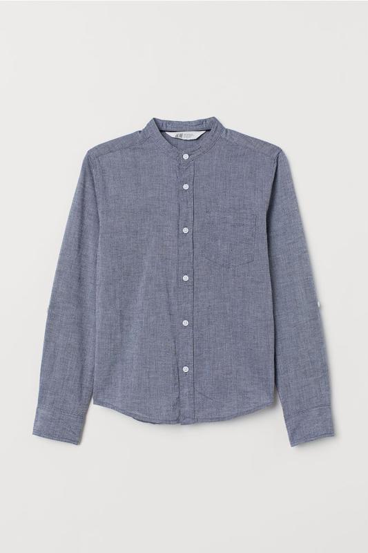 Рубашки h&m для мальчиков, 140 - Фото 3