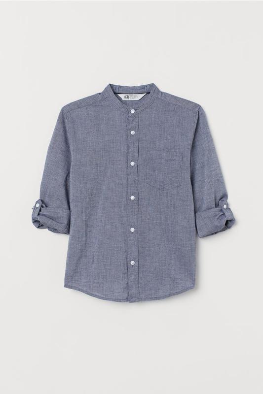 Рубашки h&m для мальчиков, 140 - Фото 4