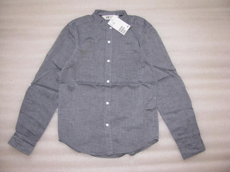 Рубашки h&m для мальчиков, 140 - Фото 5
