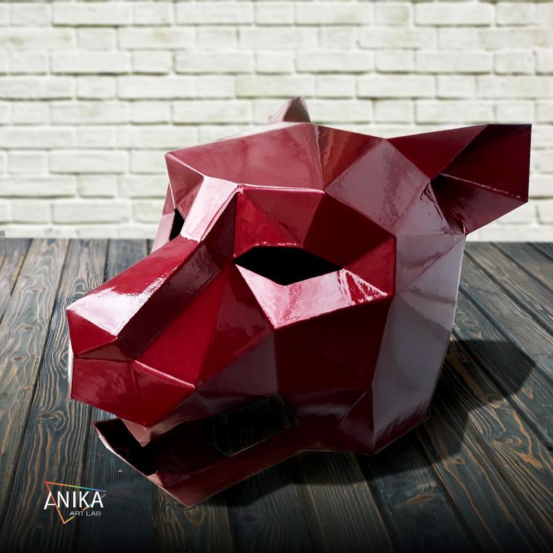Укреплённые полигональные маски. Ягуар
