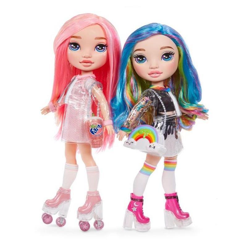 Poopsie Rainbow girls фиолетовая, голубая, розовая, радужная