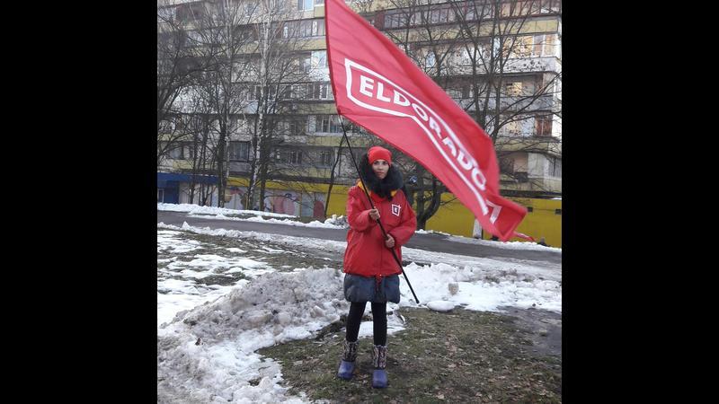 Предоставляю услуги промоутера флагомаха (флагиста,флажника)