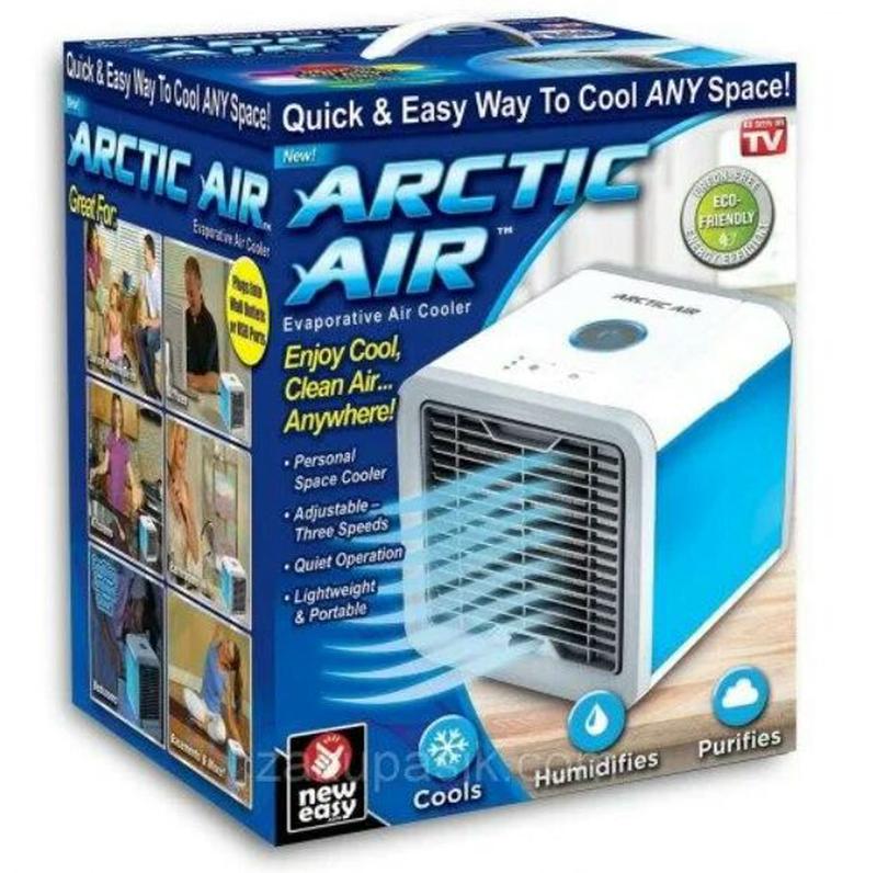 Портативный кондиционер 4в1 Rovus Arctic Air, охладитель и увлажн - Фото 3