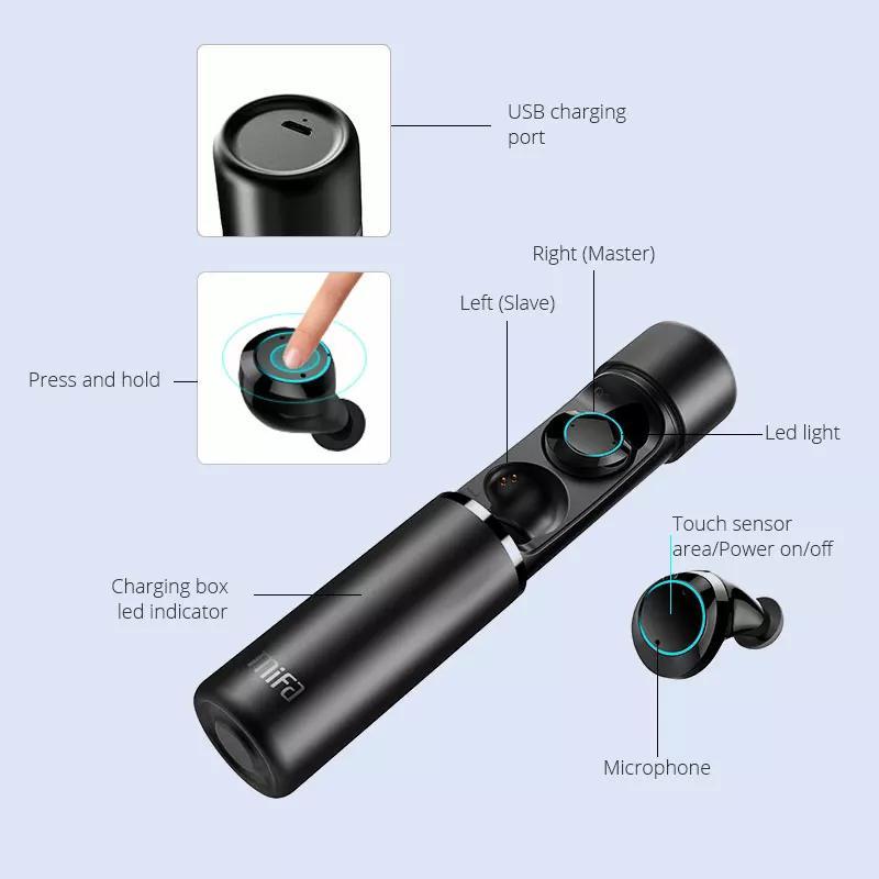 Беспроводные Bluetooth наушники Mifa X1 - Фото 2