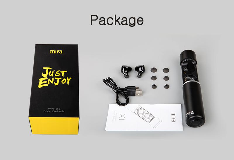 Беспроводные Bluetooth наушники Mifa X1 - Фото 5