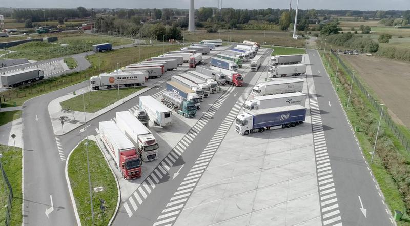 Строительство стоянок для грузовых авто