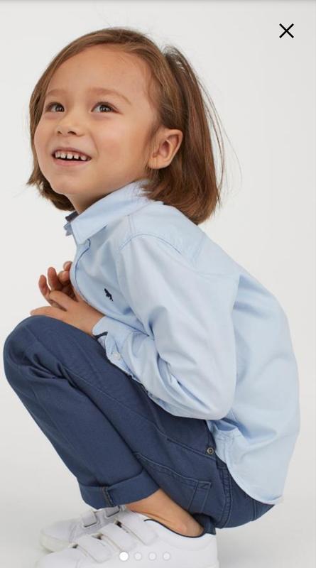 Твиловые брюки   h&m - Фото 3