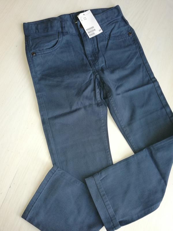 Твиловые брюки   h&m - Фото 5