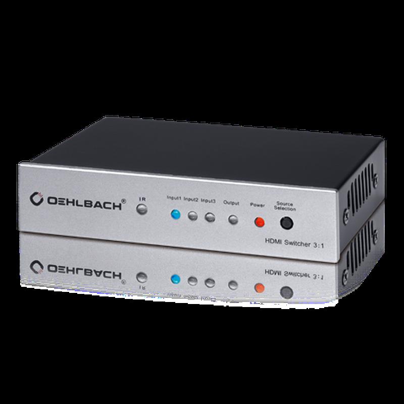 HDMI Коммутатор OEHLBACH 6042  3:1 HD 3D Full HD 1080p