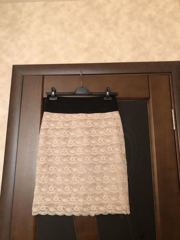 Элегантная красивейшая гипюровая юбочка от h&m на наш 44-46. с...