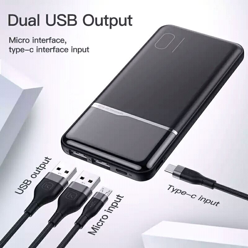 Power Bank KUULAA 10000 mAh - Фото 10