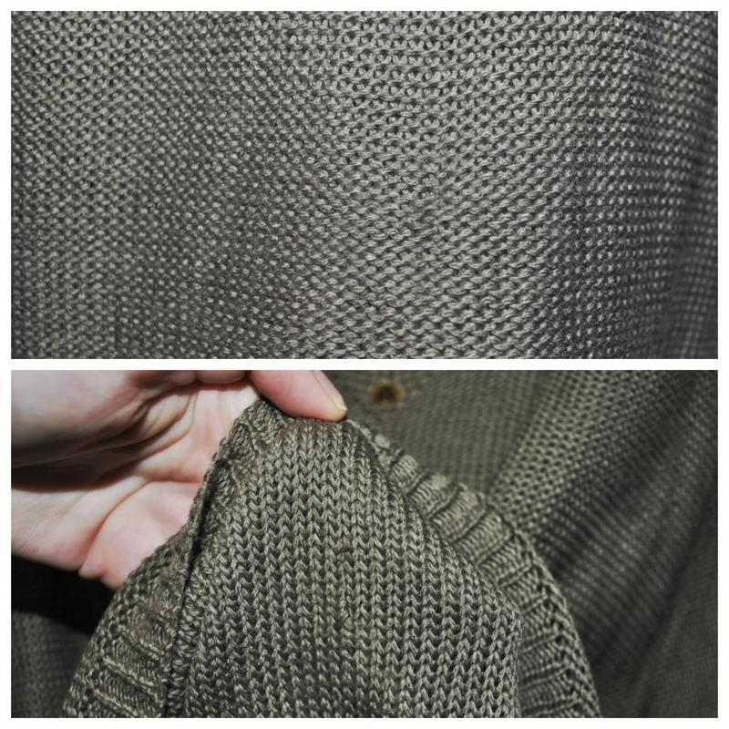 Новый асимметричный свитер оверсайз со спущенной линией плеча ... - Фото 5