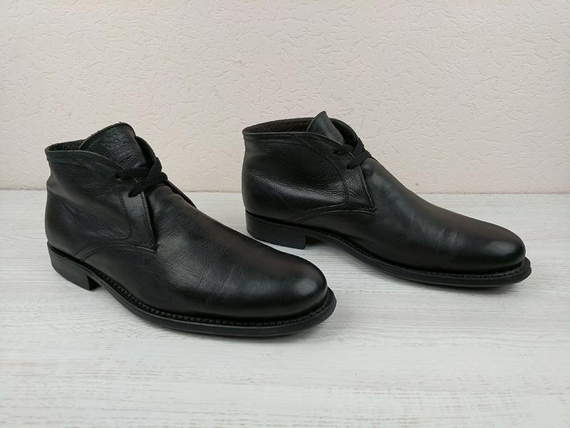Ботинки heschung 43.5 туфли bally