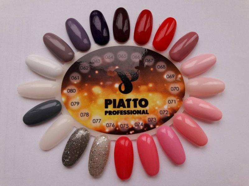 Гель-лак Piatto Nano Gel Polish - Фото 2