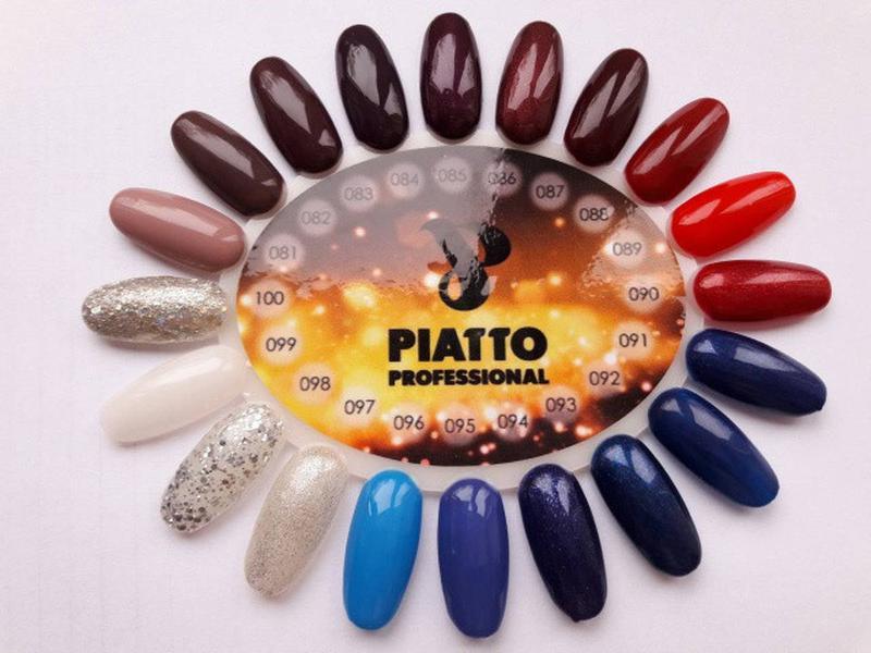 Гель-лак Piatto Nano Gel Polish - Фото 3