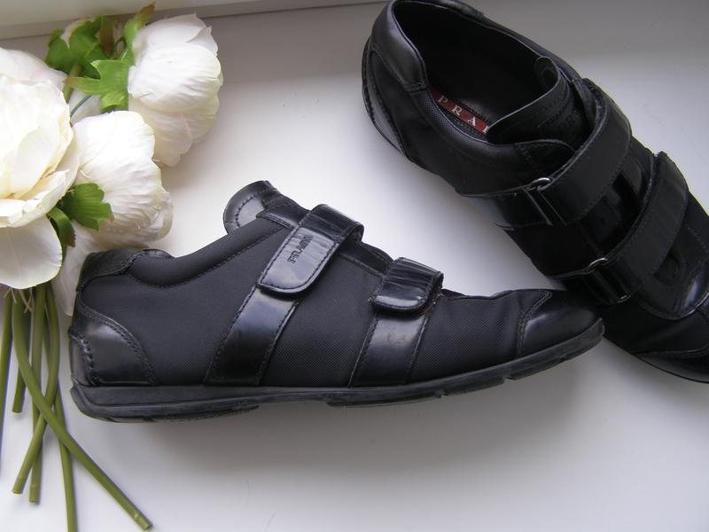 Prada кроссовки 39 размер стелька 26 см. оригинал