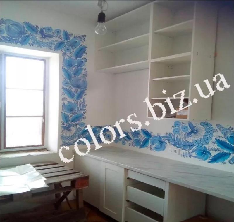 Розпис стін | Роспись стен. В кафе, на кухні, дитячі кімнати, офі - Фото 3