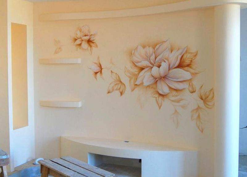 Розпис стін. Малюнок на стіну. Розпис штендерів. Оформлення меню - Фото 4