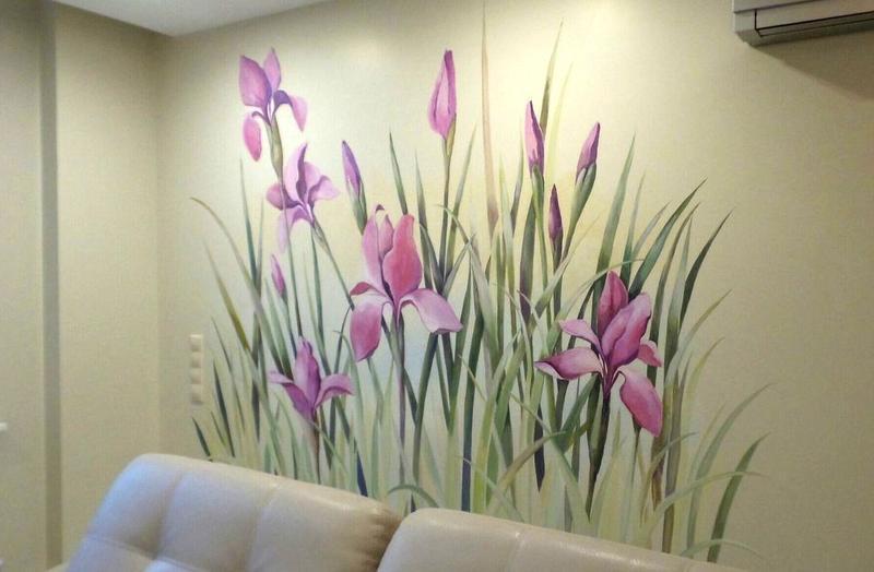 Розпис стін. Малюнок на стіну. Розпис штендерів. Оформлення меню - Фото 5