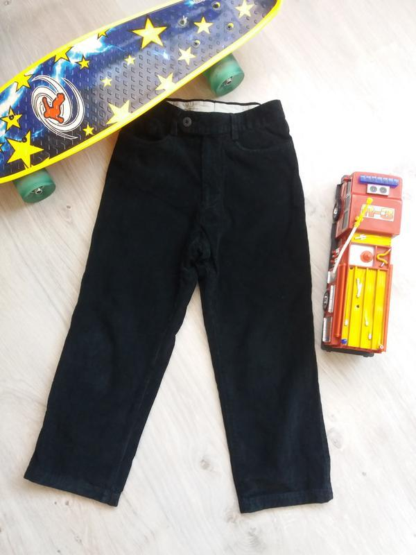 Шикарные вельветовые брюки на мальчика. штанишки идут на разме...