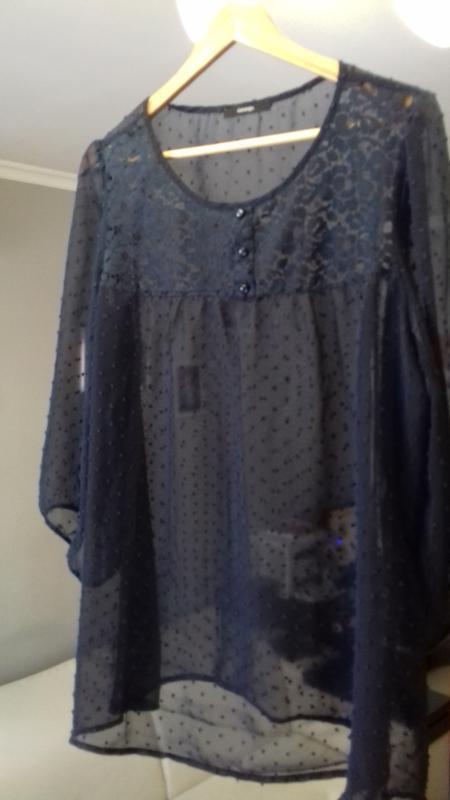 Блузка-туника в идеальном состоянии. свободного кроя размер 52... - Фото 2