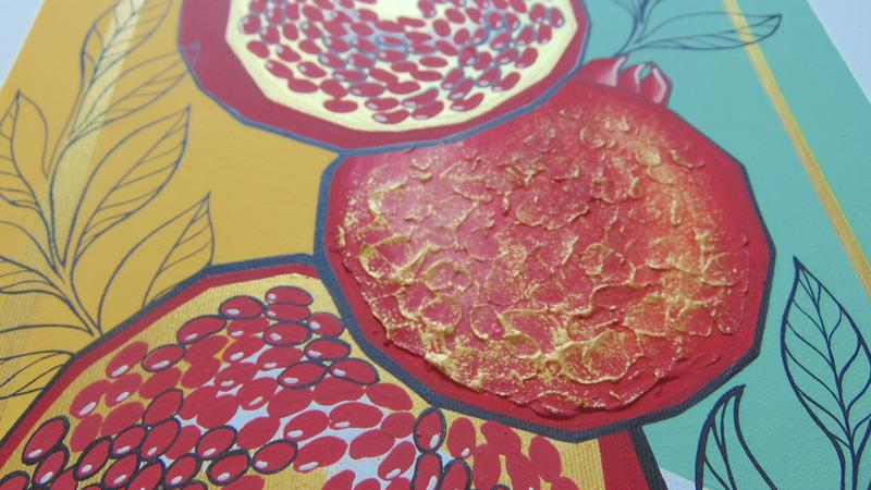 Гранатовий сік. Картина - Фото 3