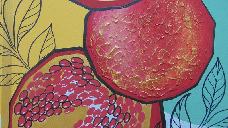 Гранатовий сік. Картина - Фото 5