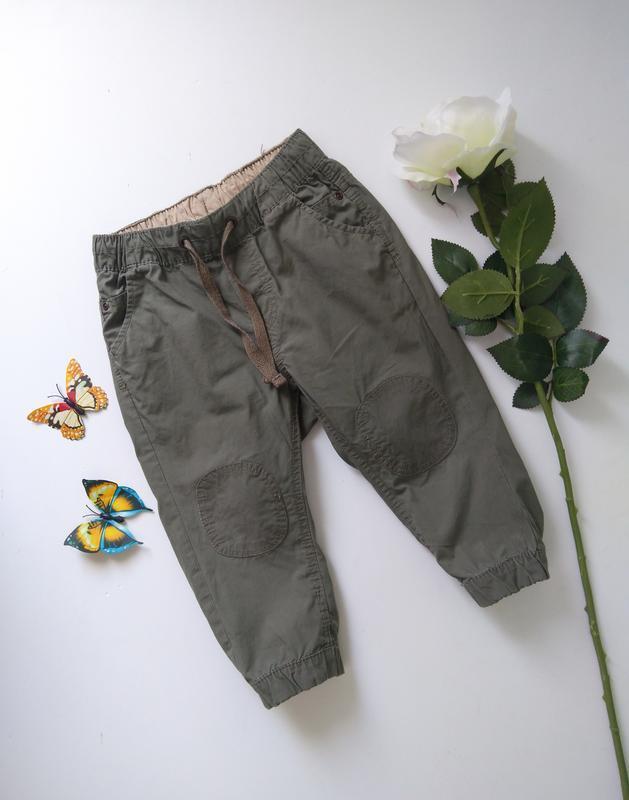 Штаны брюки джоггеры джогеры 9-12 мес от h&m