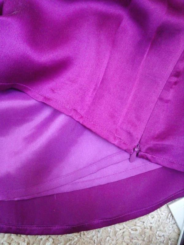 Kaliko актуальная блуза с воланами 100% натуральный шелк uk14 - Фото 3