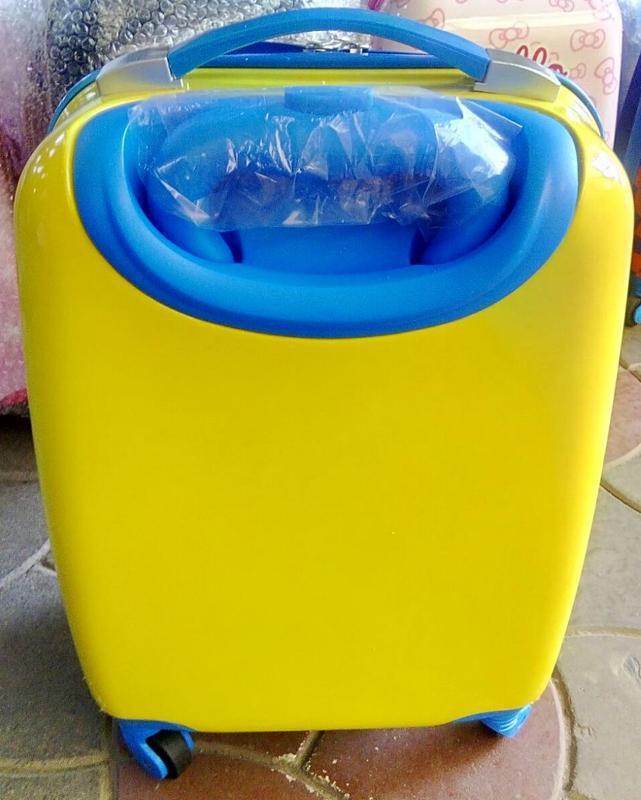 Детский чемодан пластиковый маленький для ручной клади/валіза ... - Фото 2