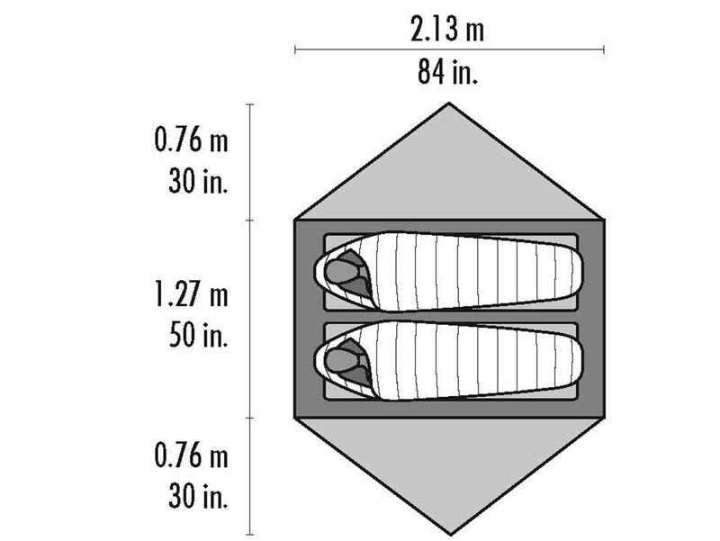 Двухместная палатка MSR Hubba Hubba NX2 (версия 2020) - Фото 6