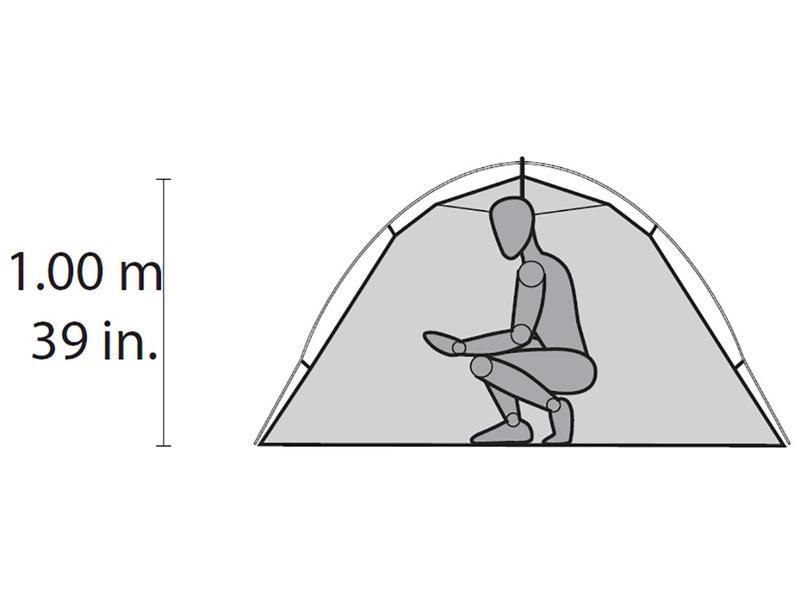 Двухместная палатка MSR Hubba Hubba NX2 (версия 2020) - Фото 5