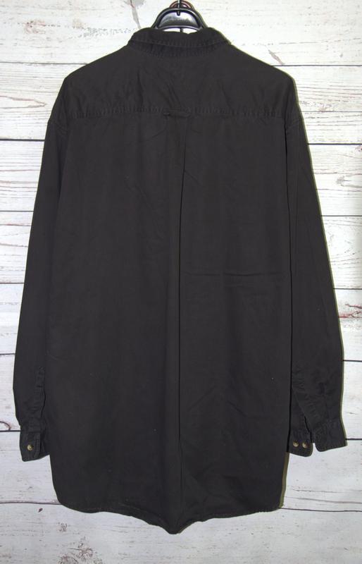 Крутая и стильная котоновая мужская рубашка long sleeve docker... - Фото 3