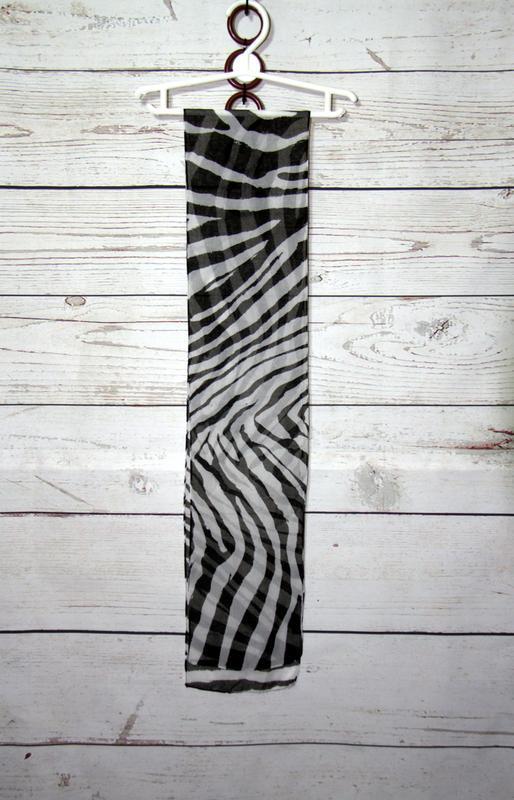 Шифоновый шарф - Фото 2