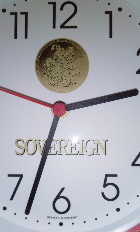 Настенные часы SOVEREIGN, Германия. - Фото 2