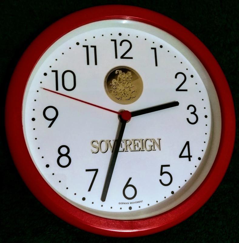 Настенные часы SOVEREIGN, Германия. - Фото 3
