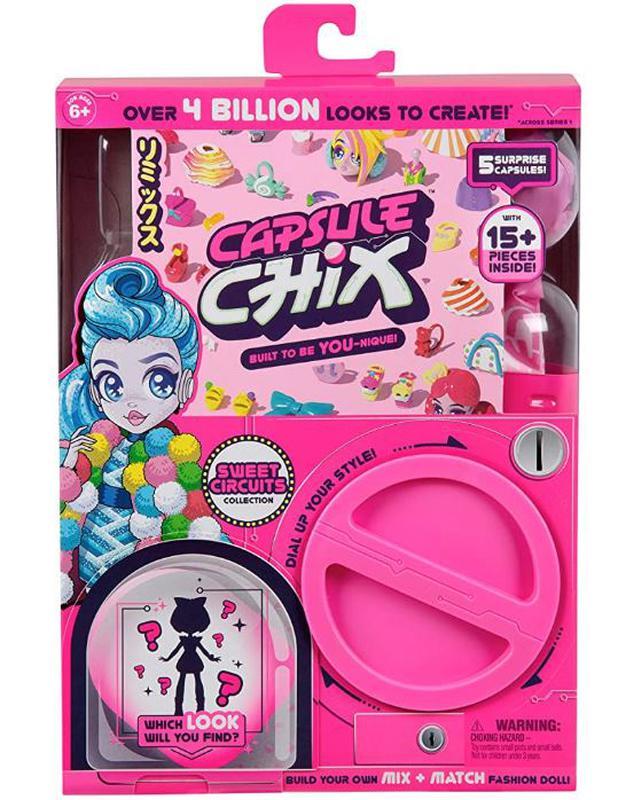 Capsule Chix Кукла капсула чикс