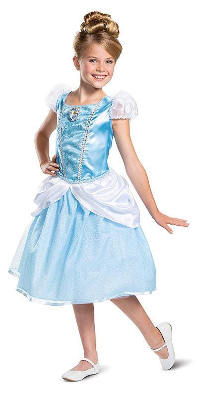 Красивый наряд принцессы золушки на карнавал или костюмированн...